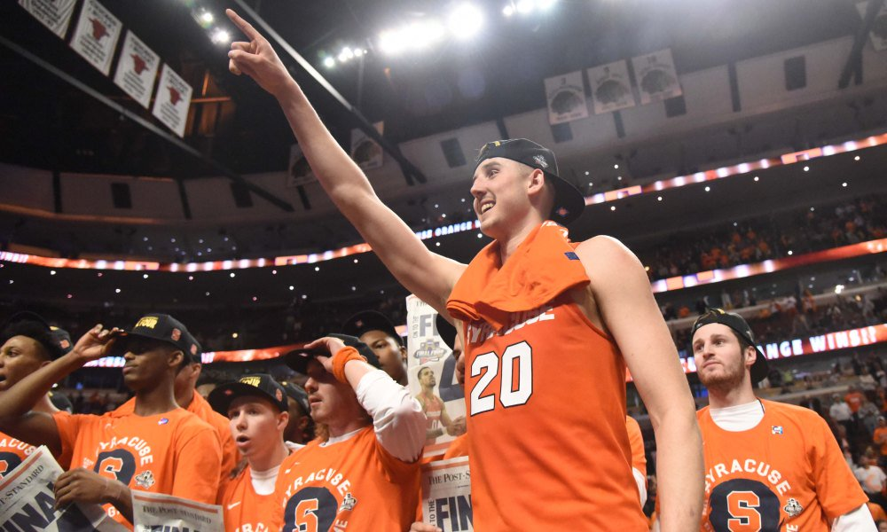 Syracuse is the biggest Cinderella because it shouldn't have been in the NCAA tournament