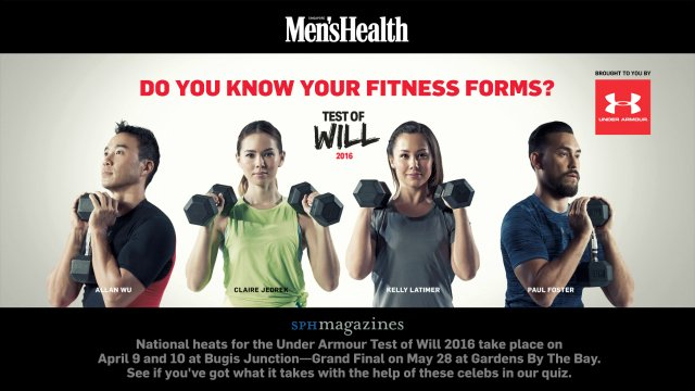 CONTEST: Stand to win $1,000 Under Armour cash vouchers & 2 passes to The Test of Will 2016 https://t.co/6T9iFWQ6og https://t.co/qaGYijfPgg