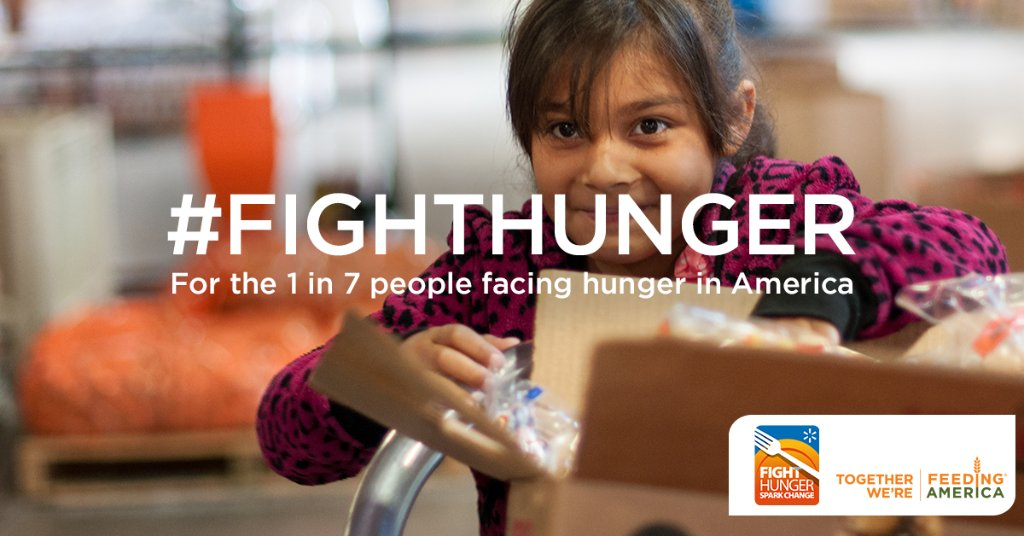 Use #FightHunger and @Walmart will help secure 10 meals for people facing hunger in the US! https://t.co/KrTY9B9Hsf https://t.co/u6tkF6F8ho