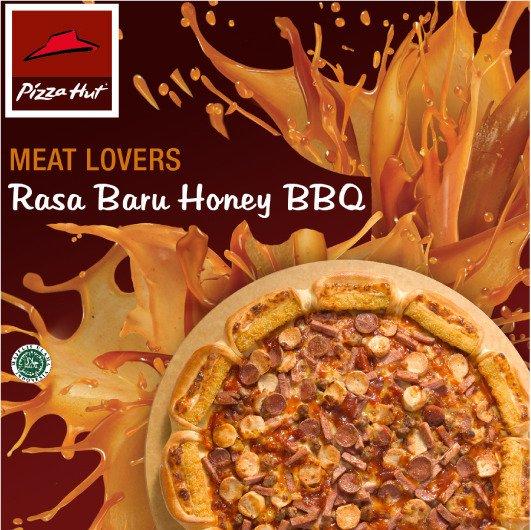 Meat Lovers Pizza rasa baru Honey BBQ utk ukuran & pinggiran pizza apa saja. Rasa manis madu BBQ yang pas. https://t.co/4dr6ZF0BSH