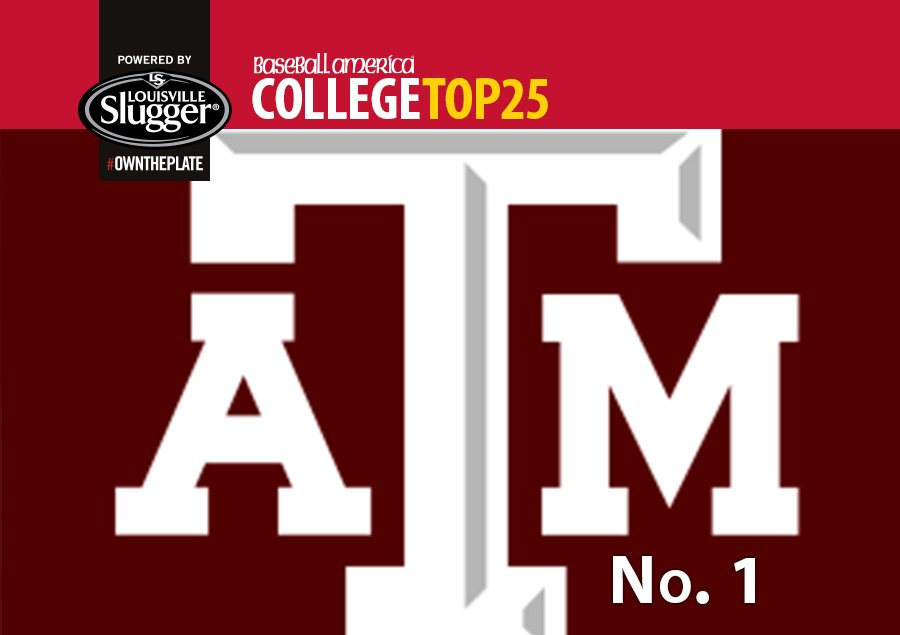Top 25, powered by @sluggernation: For the first time this year, there is a new No. 1. https://t.co/rBrUONU5RA https://t.co/vhXOOJ5tzJ