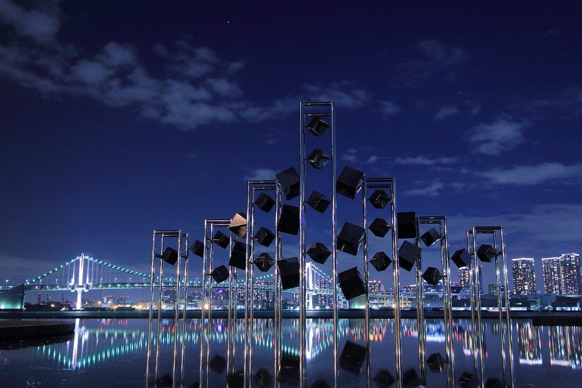 晴海埠頭ターミナルの夜。#夜景 https://t.co/xn4Zrv22Dh