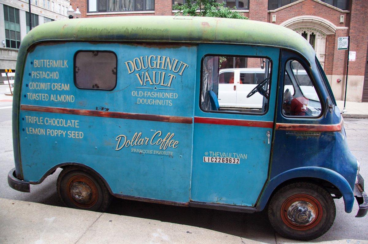 Doughnuts on wheels...coming soon #vaultvan https://t.co/80NhJtZ312