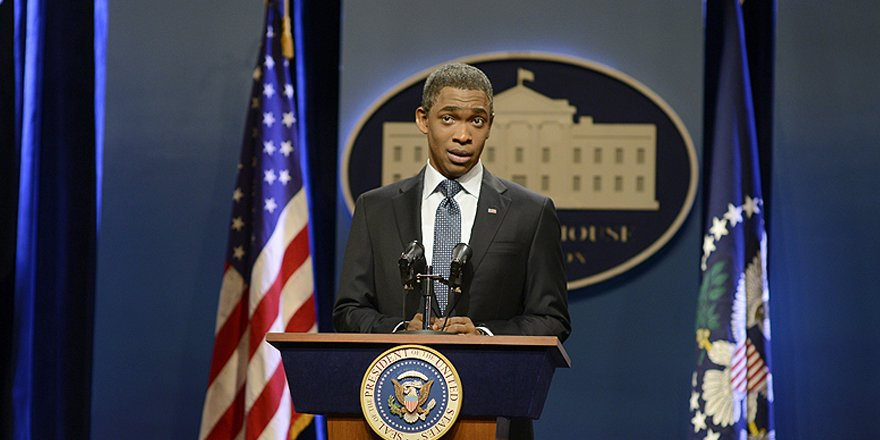 Jay Pharoah on doing his Barack Obama impression – in front of Obama
