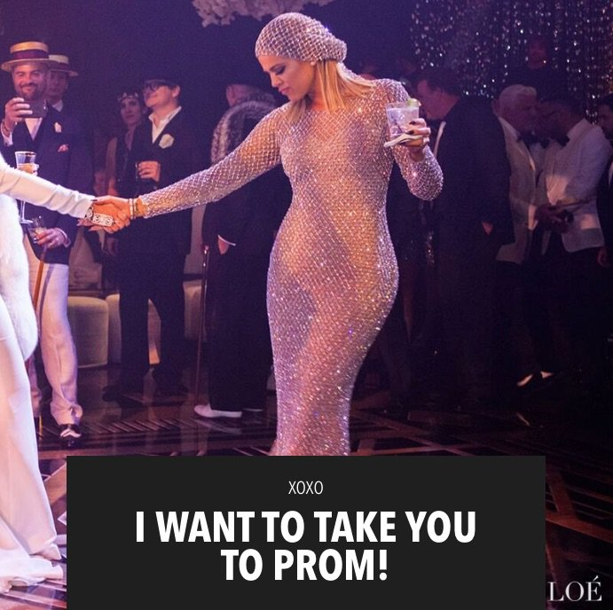 I'm SO excited…I'm taking one app subscriber to PROM!!! Contest details are on khloewithak! https://t.co/OlWJ9rHAXP https://t.co/SiF5byuAHM