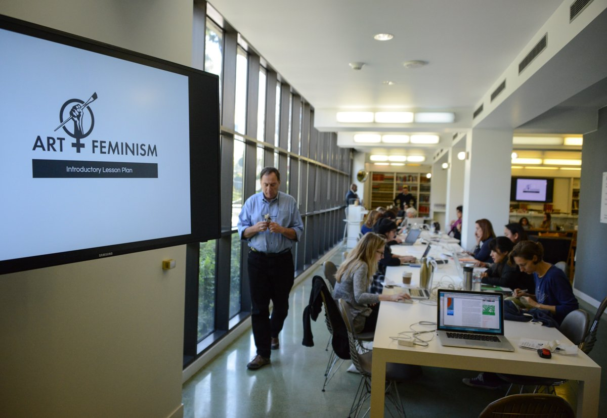 Recounting the March 6 #ArtandFeminism Wikipedia Edit-a-thon at LACMA: #ArtPlusTech