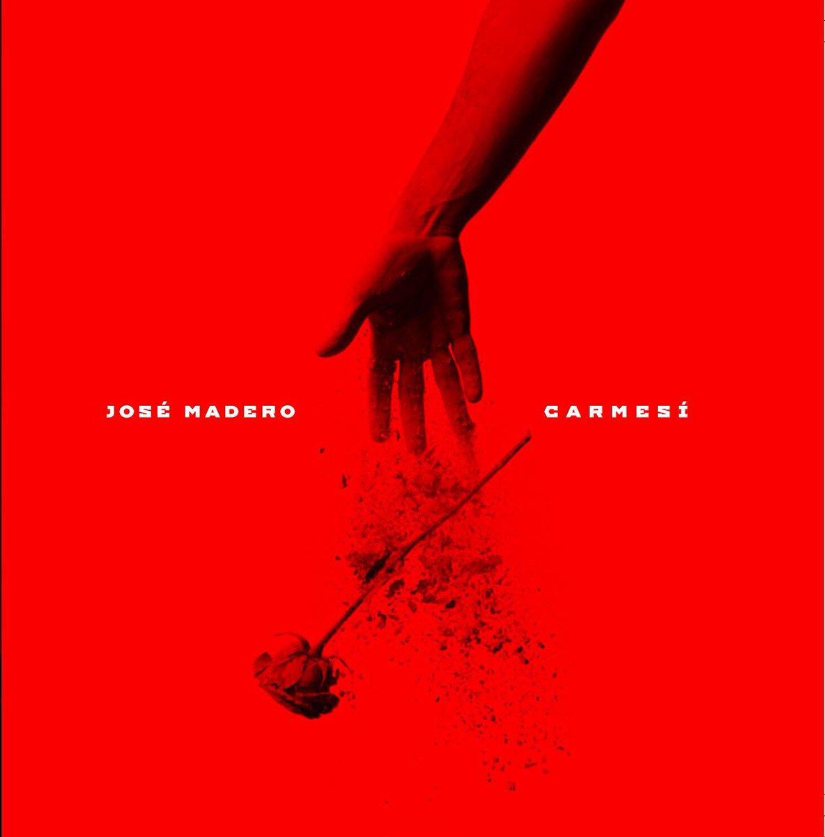 JOSE MADERO - CARMESI a la venta el prox 29 de abril. Primer sencillo sale el 8 de abril. Gracias a todos!