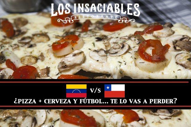 Este martes: pizza + cerveza + fútbol, la combinación perfecta Reservas https://t.co/RLeHWL3MwS https://t.co/fVNBwAMC7U