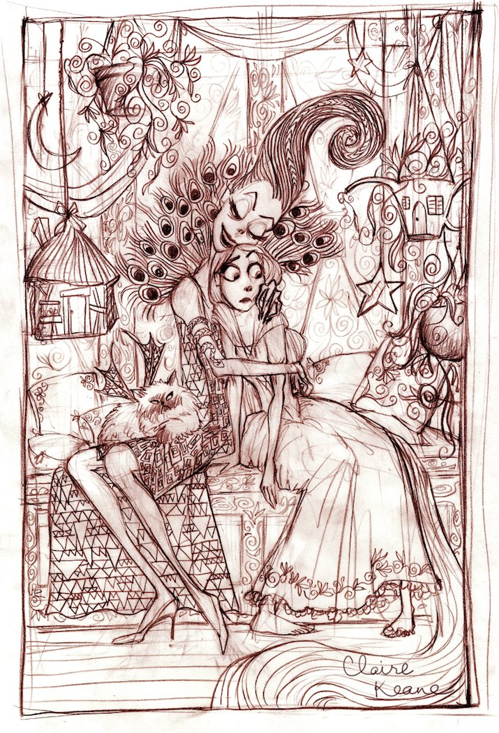 Early version of Mother Gothel // visual development for #Tangled https://t.co/vVQZzuMP9T