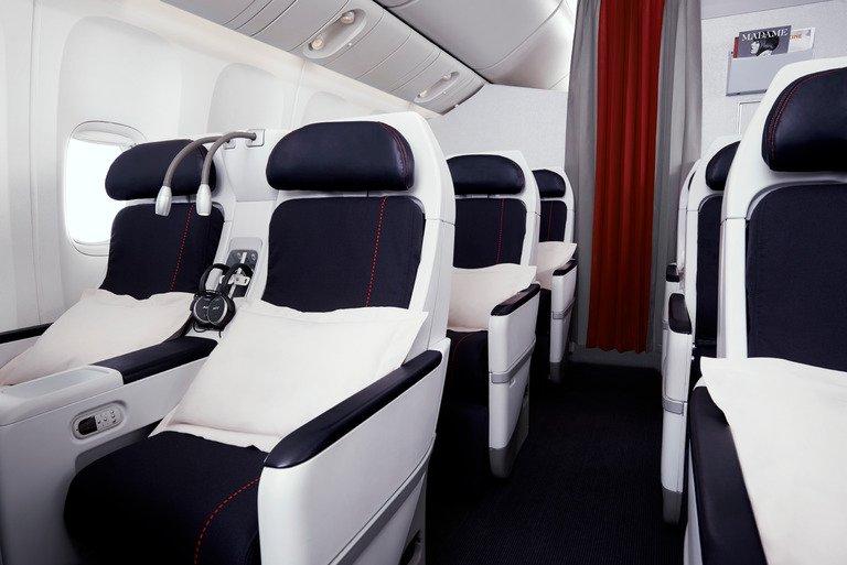 New La Première, Business, Premium Economy & Economy cabins on Houston-Paris flights!