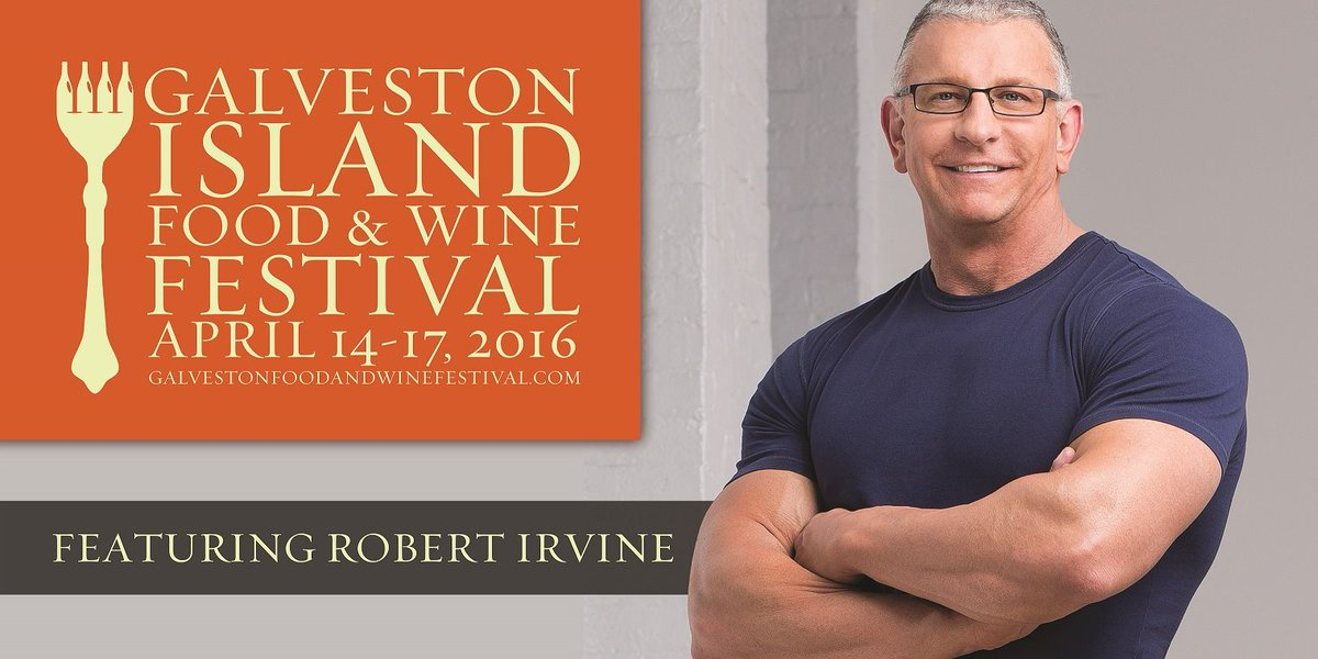 RETWEET & FOLLOW US for a chance to WIN 2 TICKETS to the Galveston Food & Wine Festival with @RobertIrvine! https://t.co/WcQxPHZmtS