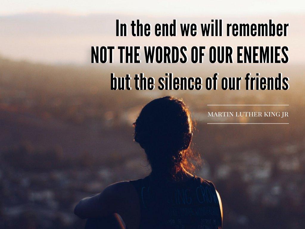 A moment of silence... #MLK https://t.co/DBRfgYIkHy