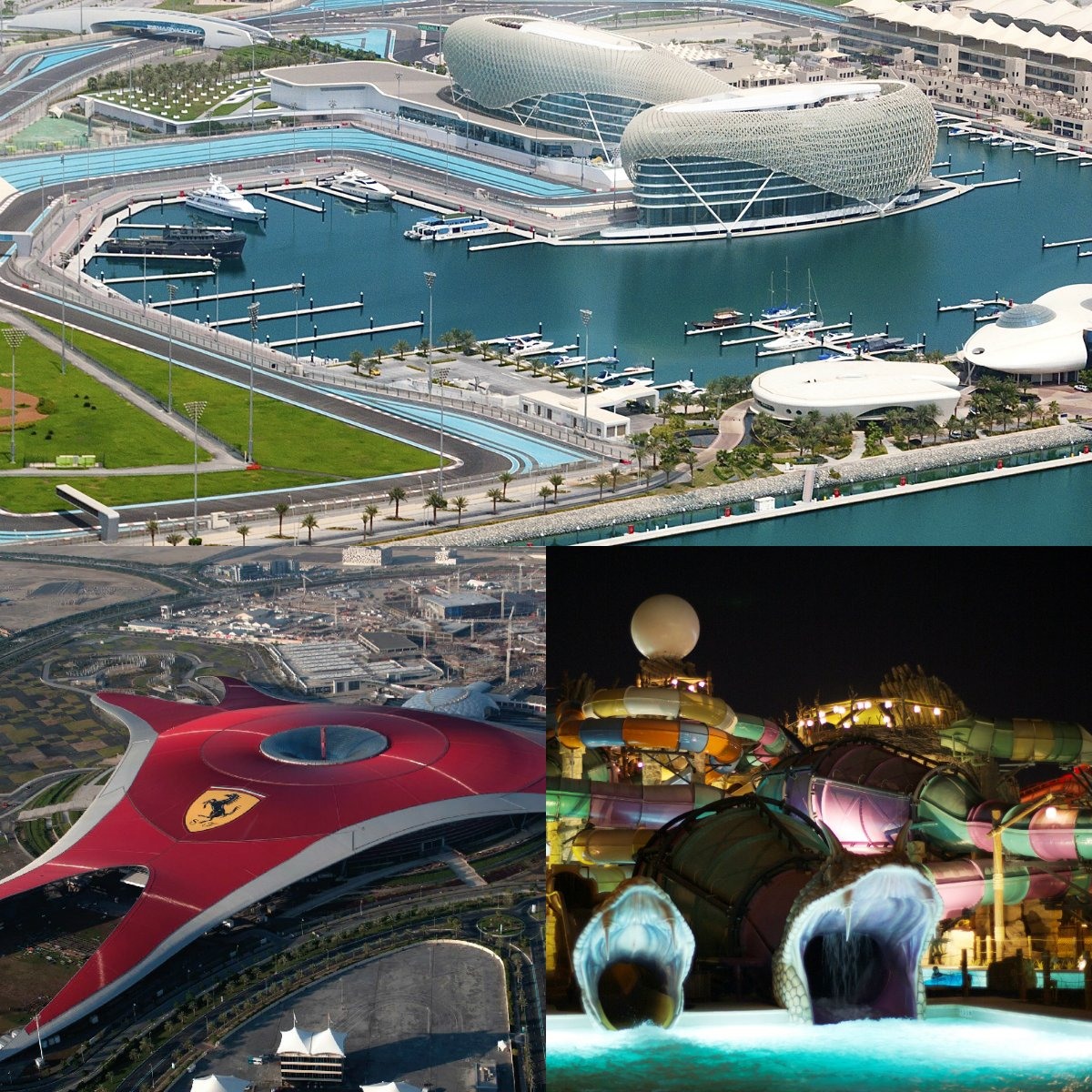 Discover YasIsland, Home to some of the UAE's most exciting attractions: