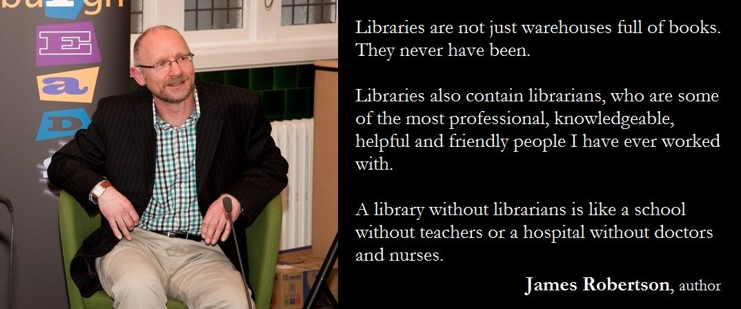 Thanks James... #libraries https://t.co/iCBKoBbu4q