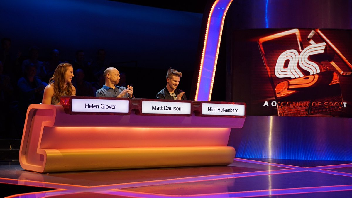 On @QuestionofSport this week there's a treat for @bbcf1 fans as @HulkHulkenberg joins @matt9dawson & @Helenglovergb https://t.co/0Q5GauYmp9