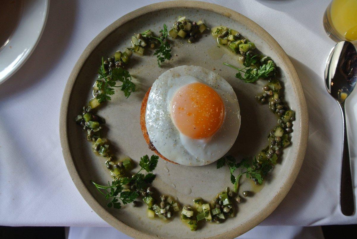 Haggis, Duck Egg & Salsa Verde at @JesmondDeneHous https://t.co/CLlUrqnbFZ #NorthEastHour #Newcastle #Foodie https://t.co/aXwfy2qL6h