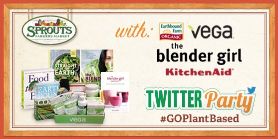 TWITTER PARTY ALERT! We're chatting all things #plantbased TONIGHT at 5pm PT/8pmET. Follow #GOPlantBased & Join in! https://t.co/YbfikL7lBK