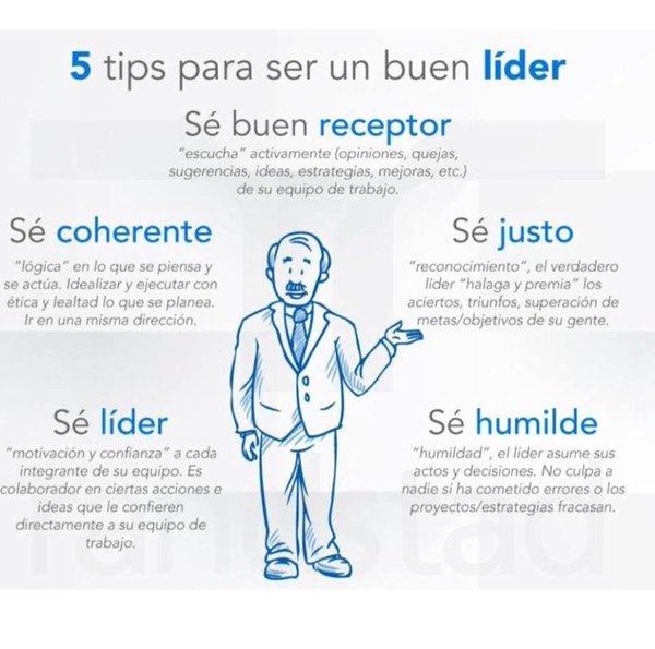 Tips para ser un buen líder vía @olacoach #liderazgo #coaching #pymes https://t.co/6rzHJrJF5m