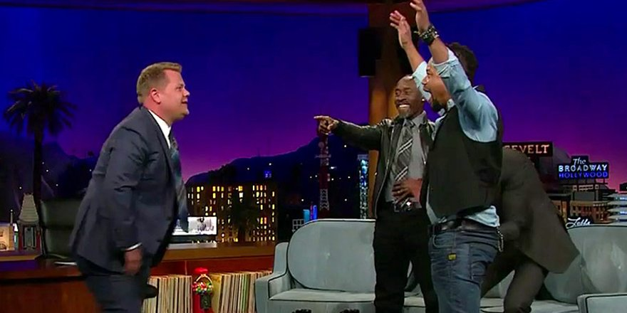 Cuba Gooding Jr. issues a breakdancing challenge to Channing Tatum on @latelateshow
