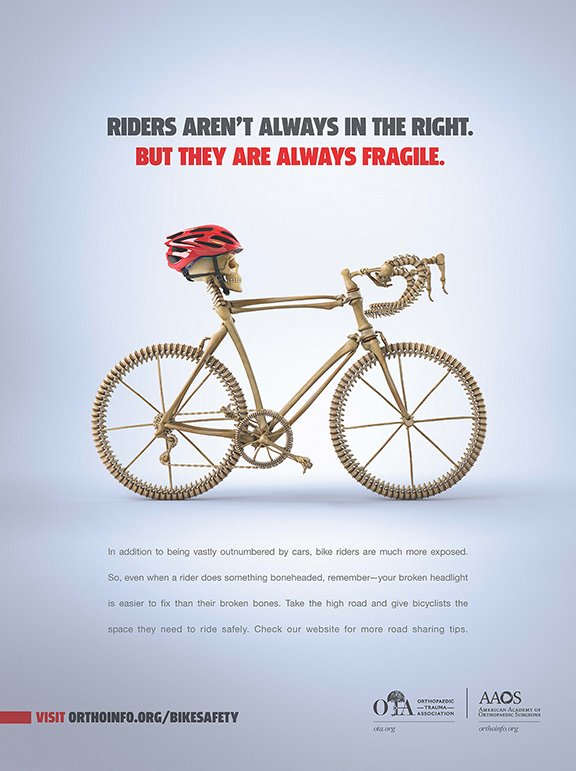 Be vigilant of cyclists on the road this spring. https://t.co/g956U6CovU