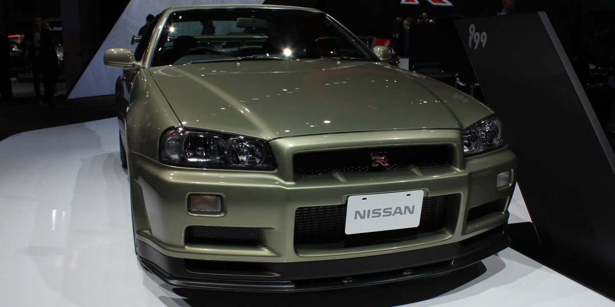The iconic #R34 Nissan Skyline GT-R has still got it… and flaunted it last week at #NYIAS. #NissanNYIAS https://t.co/wEVIoR8cpz