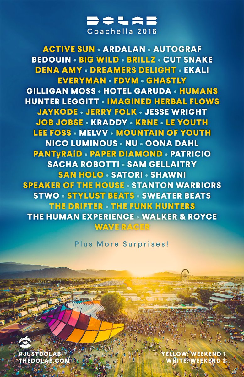 You can rest easy now - our 2016 Coachella lineup is here! RSVP: https://t.co/4vgJVtRAYk https://t.co/jO3gd1wy6R