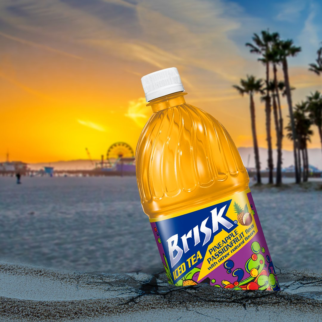 ICYMI we (re)dropped Brisk Pineapple Passionfruit for your drinking pleasure. Now available in a store near you.