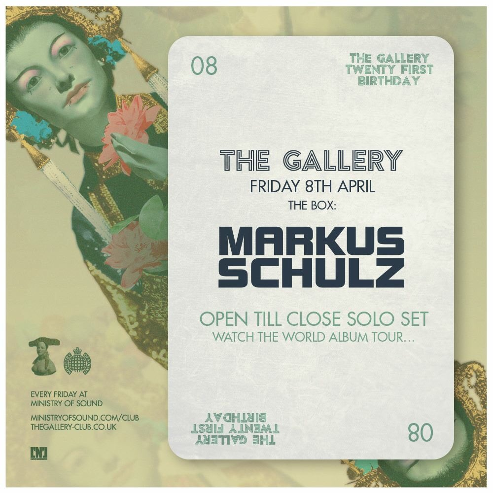 From open till close, all night long with @MarkusSchulz to celebrate our 21st birthday. https://t.co/uoJceAaldW