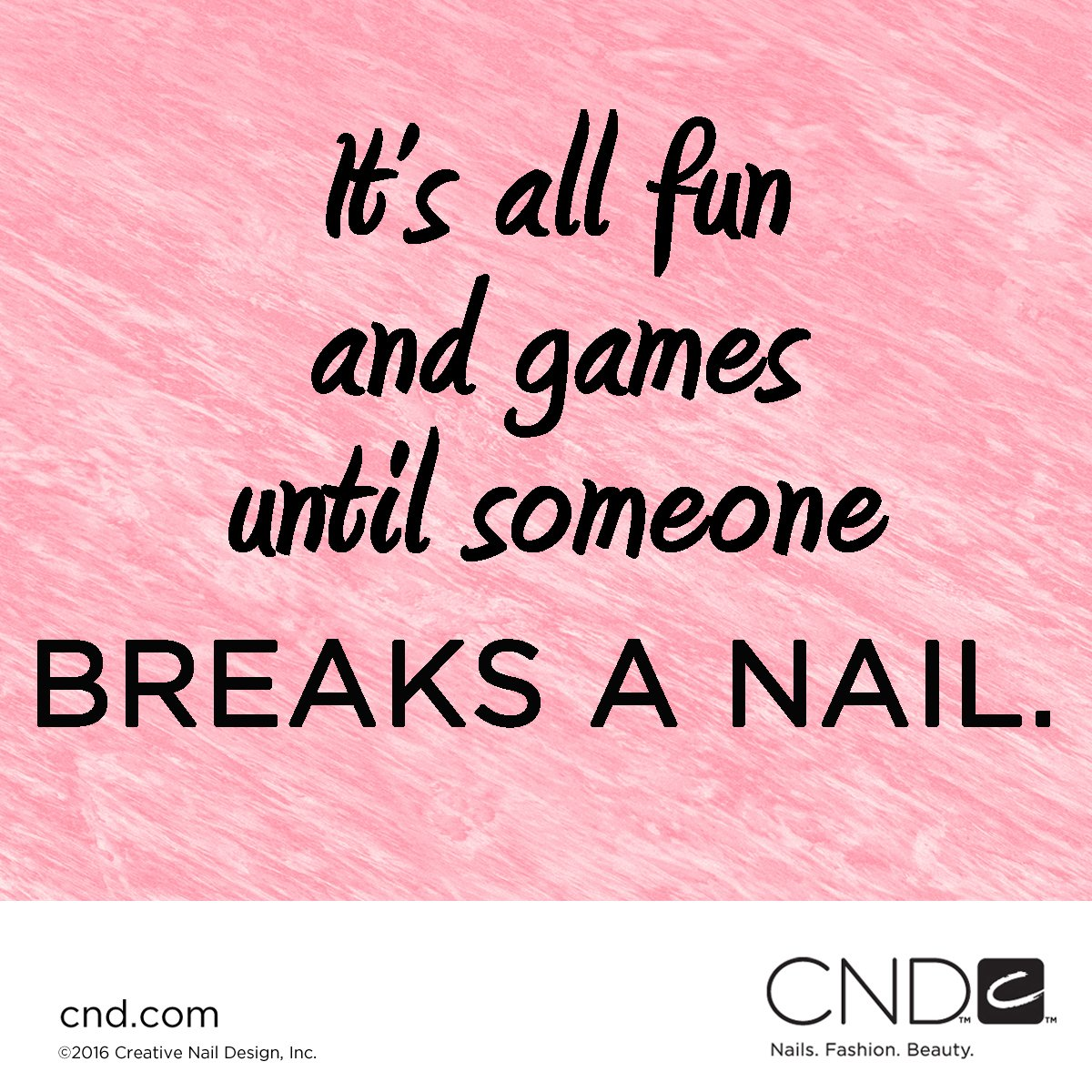 We take our nails very seriously. RT if you agree! #QOTD https://t.co/K1vtErIJui