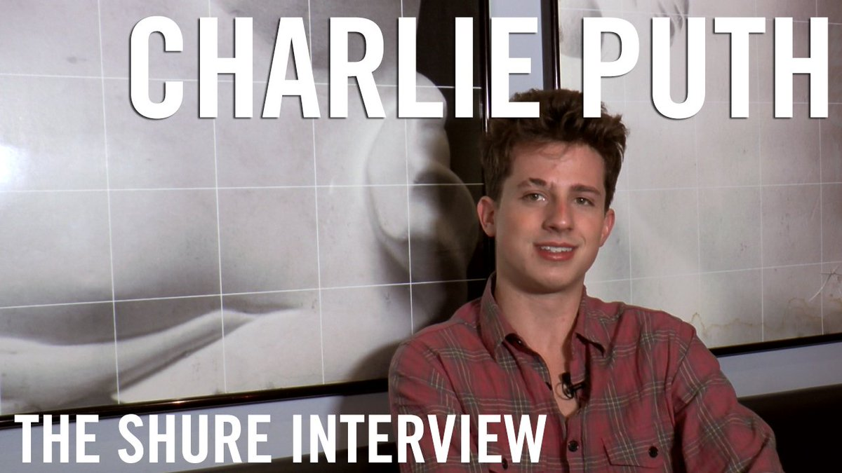Hear Shure artist @charlieputh on his fans, performing live, & the importance of good sound. https://t.co/nixycDex0u https://t.co/oXv5igew01