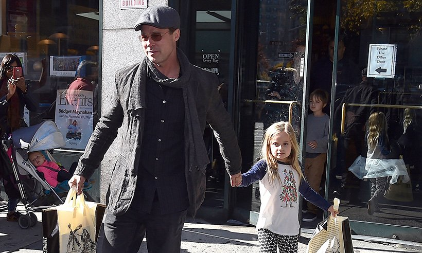 See how Brad Pitt spent the Easter holidays: