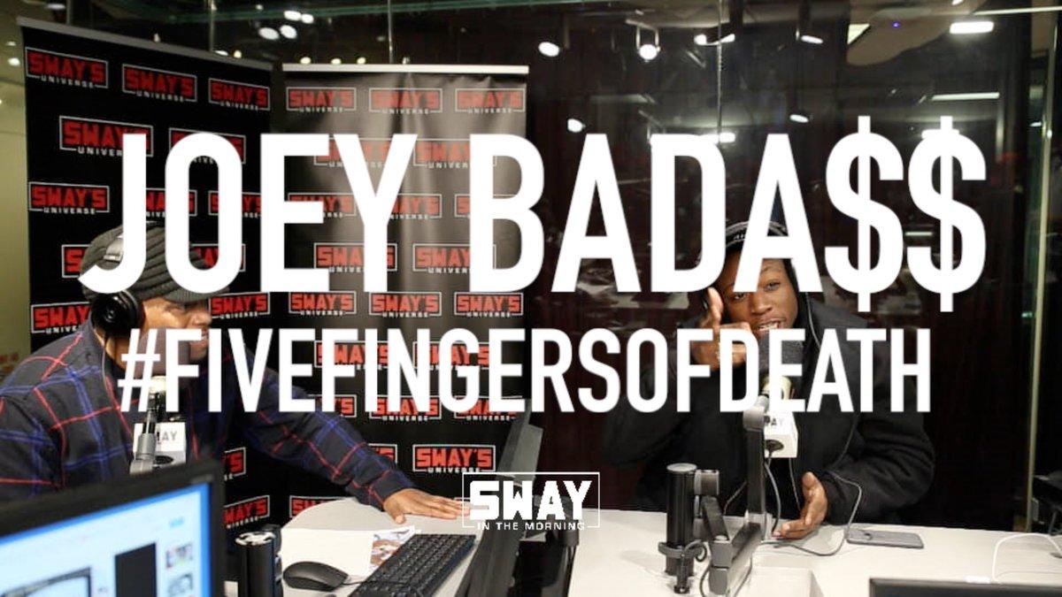 Joey Bada$$' 5 Fingers may be best of 2016! Plus he takes shots! https://t.co/nUlCwRZeFy https://t.co/kBEK89SVNo