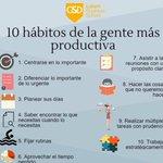 10 Hábitos de la gente productiva! #management @ArnaudDrijard https://t.co/TP7KXQ255d https://t.co/gMWdq3Iy9j