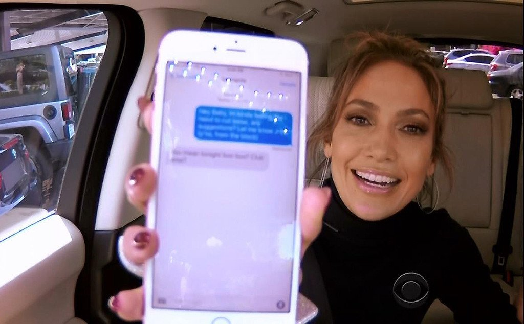 CarpoolKaraoke brings together Jennifer Lopez, James Corden...and Leonardo DiCaprio?