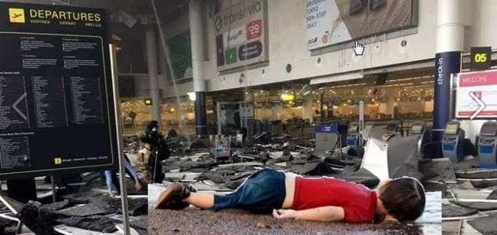 Strange how we haven't been shown any pictures of children killed in the Brussels attacks. Might they sway opinions? https://t.co/CDEaPZ8lxd