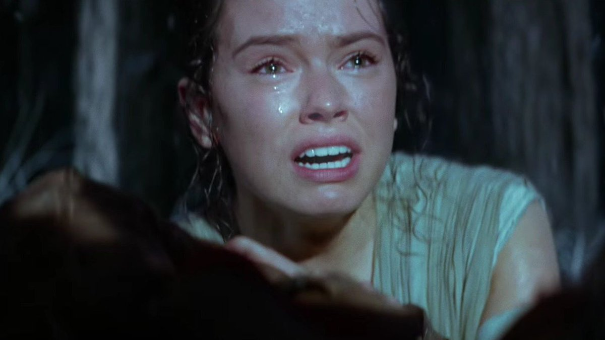 The force was most definitely wit Daisy Ridley for her Star Wars audition: