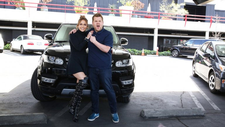 CarpoolKaraoke: Watch Jennifer Lopez teach James Corden her music video moves