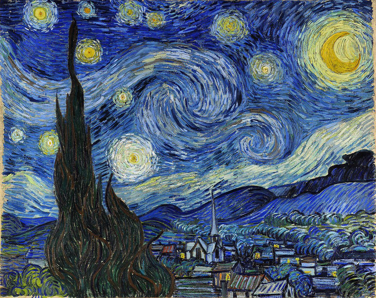 Happy Birthday Van Gogh! - The Starry Night, Vincent van Gogh, 1889, Museum of Modern Art @MuseumModernArt #VanGogh https://t.co/McfvwijIVv