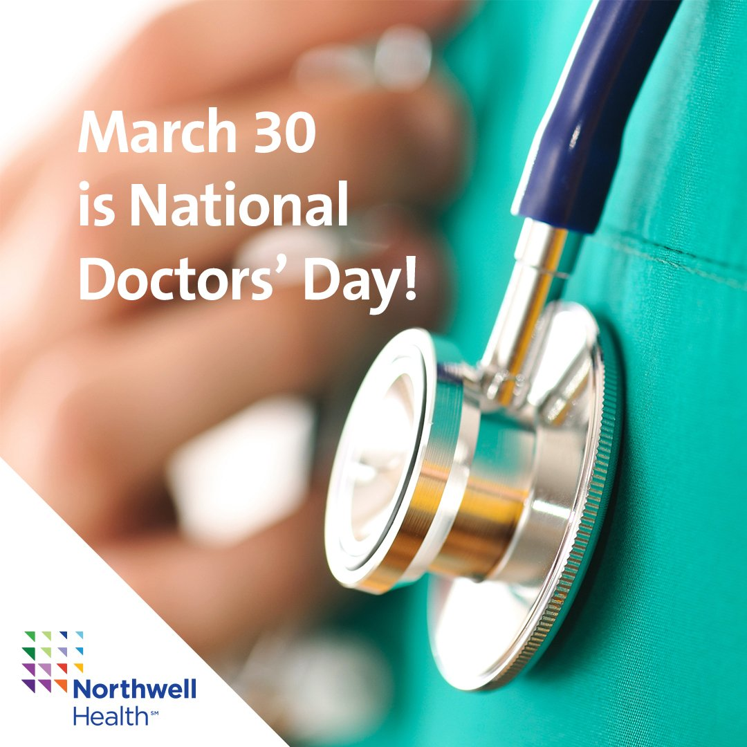 We appreciate every one of our dedicated doctors. Be sure to wish your doctors a happy #NationalDoctorsDay today! https://t.co/vidbvmmD7t