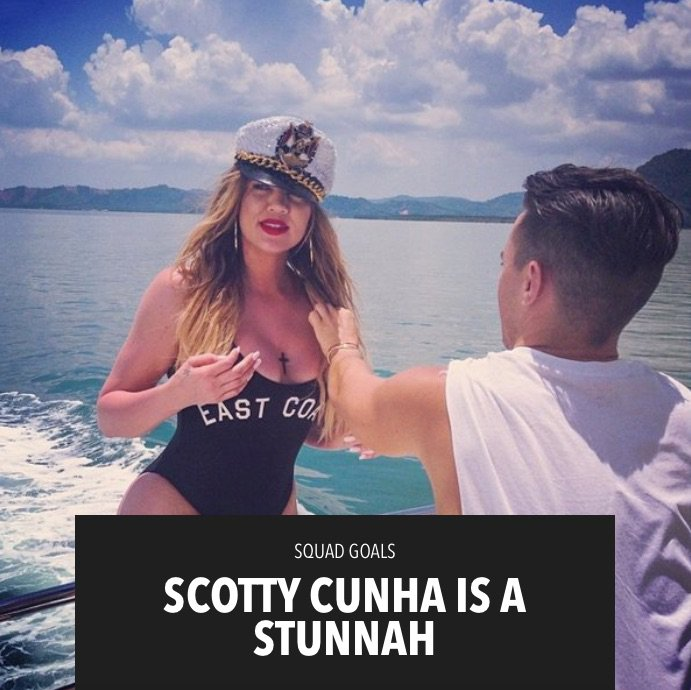 .@TheScottyCunha is truly one-of-a-kind!!! See what he REALLY thinks of me on khloewithak! https://t.co/c9aTORo70Z https://t.co/ToKvP38Wy6
