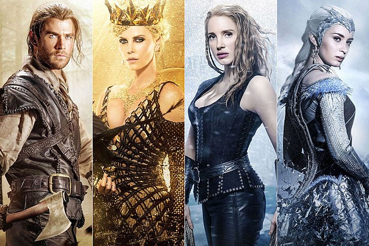 We're looking forward to the THE HUNTSMAN: WINTER'S WAR movie starring Chris Hemsworth, Emily Blunt: Out April 4th. https://t.co/3G1LVDvZp0