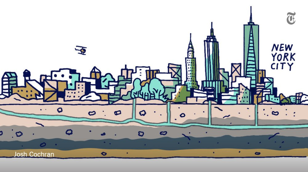 It can take a year for water to travel from the Catskills to NYC. Here's its journey https://t.co/qdgj8vMA9w https://t.co/NdBfJpPG9q