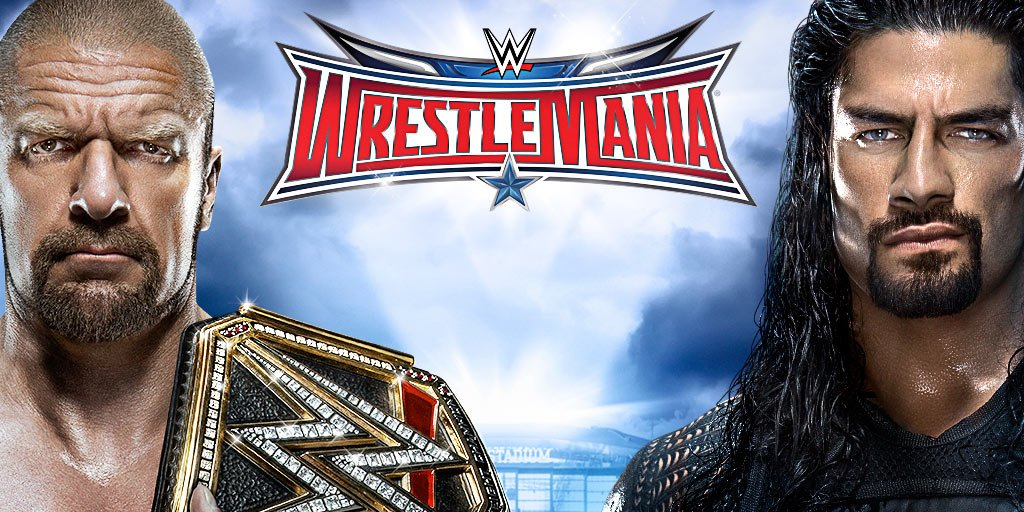 .@WrestleMania 32 is live on @WWENetwork Sunday, 4/3!  RT & follow to enter to win a @WWE prize pack! Ends 4/1. https://t.co/ms5b7jVYqn