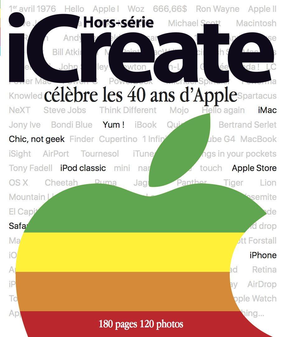 Le sachez-tu ? Le 1er avril, Apple fêtera ses 40 ans. Et du coup, nous aussi :-) #iCHS40 https://t.co/s8dJEwSm28