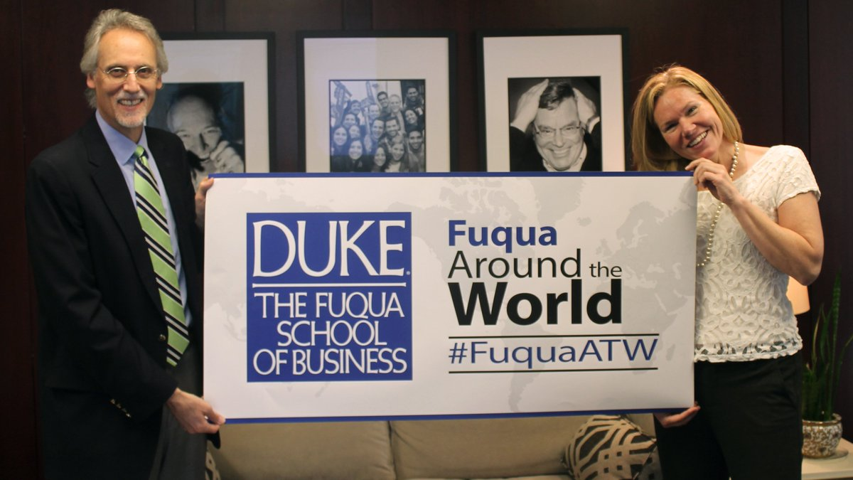 Big day today! 3rd annual Fuqua Around the World networking event in 70+ cities. Share & follow at #FuquaATW https://t.co/LEySk4WByR