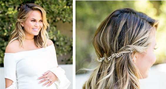 Baby Shower Hairstyle