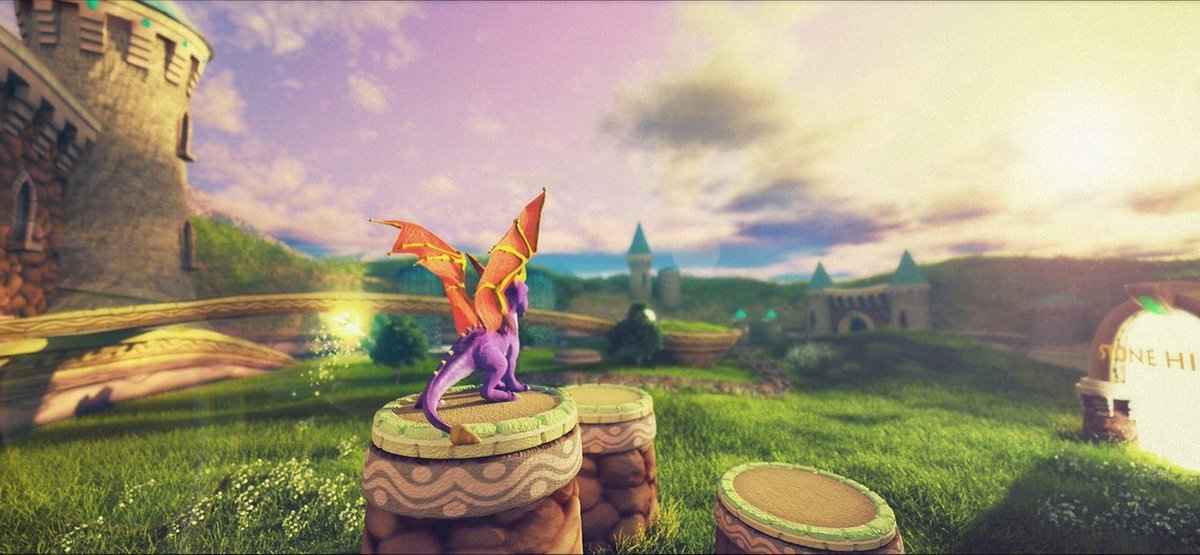 If Spyro The Dragon was remastered...this NEEDS to be done! ?? nx95ch3cKM
