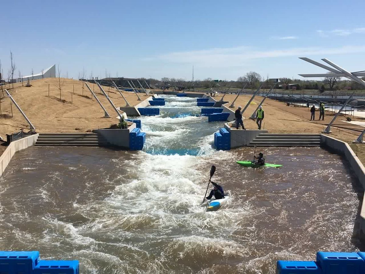 Testing & staff training time at #RIVERSPORTRapids! Join us for the grand opening May 7-8: https://t.co/D0MuzjUckI https://t.co/JhsNRBMI4Y