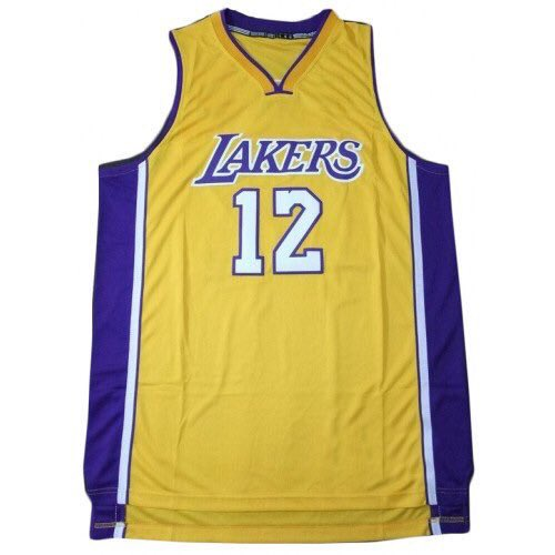 Lakers bout to change #DangeloRussel jersey # like https://t.co/uQ5dM271y8