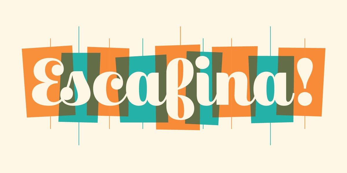 I made a new script typeface, and it's called Escafina.   https://t.co/ut76qJjjYd https://t.co/ePoSSQgixI